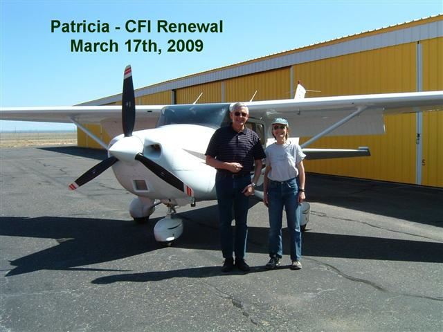 Patricia CFI Renewal
